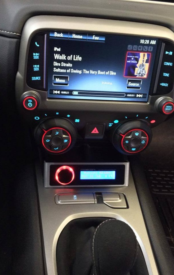 Mosconi Audio Processor in 2014 Camaro