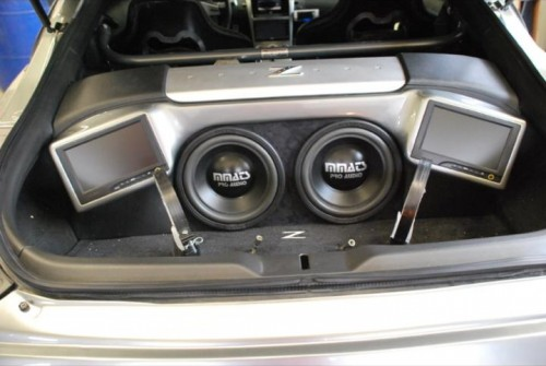 350 Z w/ 7in TV & Subs I