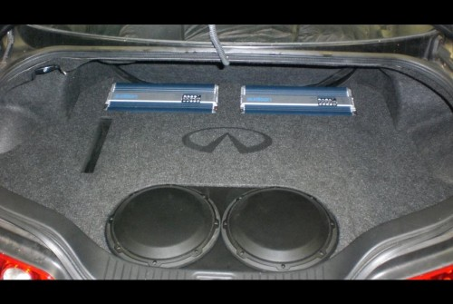 G35 w/ Audison Amp & JLW 6in Sub