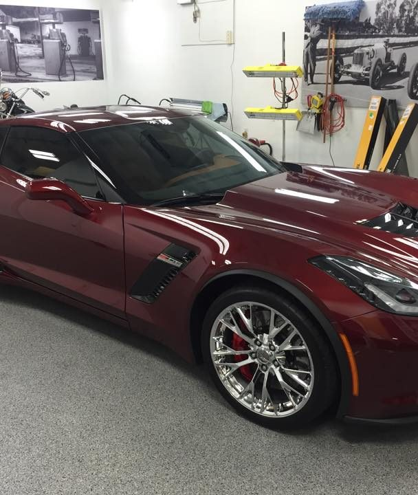 Window Tint Corvette