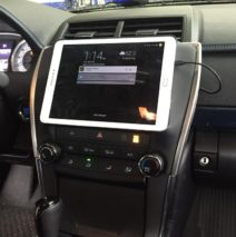Galaxy Tablet finished in Toyota Camry