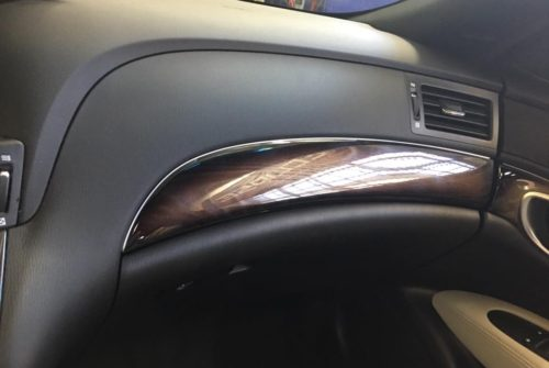 Infiniti M56s with New wood Trim Install