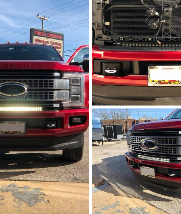 Putco LED Bar on 2018 Platinum F250